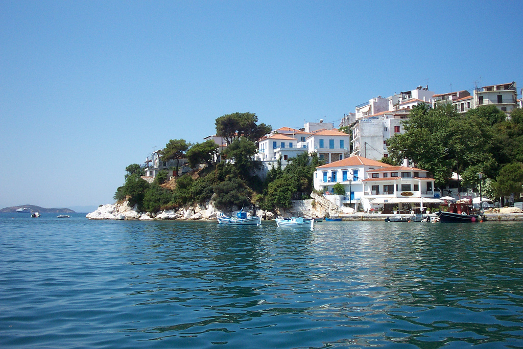 Skiathos urlaub hotels apartments str nde tipps for Skiathos hotels