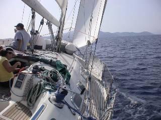 Naxos Yacht Sailing