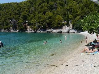 Strand von Agnontas
