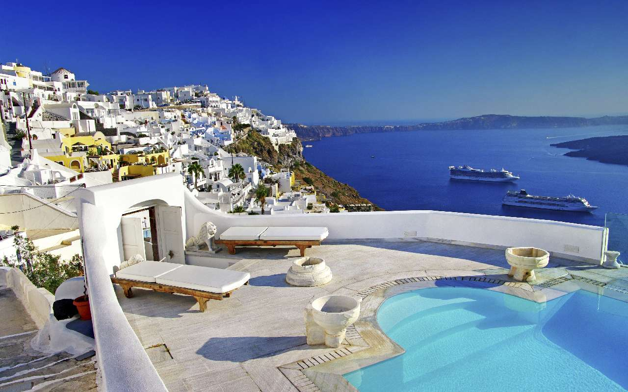 santorini urlaub hotels apartments str nde tipps. Black Bedroom Furniture Sets. Home Design Ideas